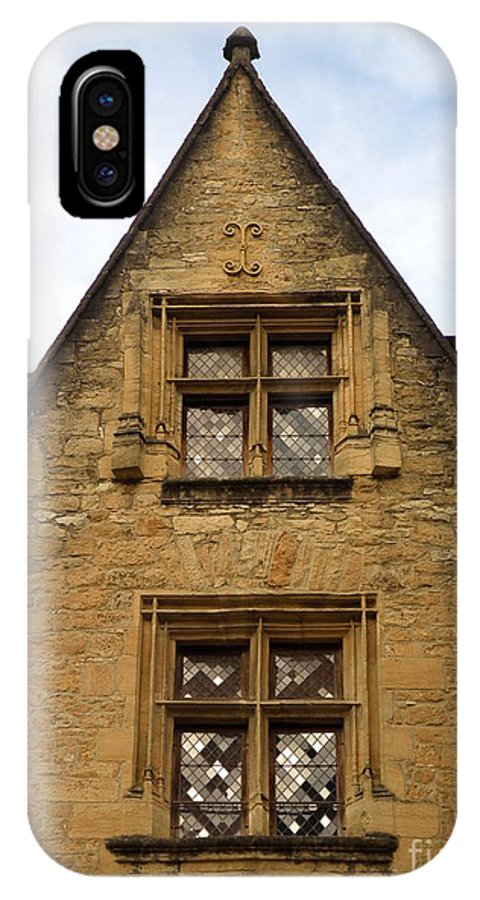 Windows IPhone X Case featuring the photograph Windows Of Sarlat by Lainie Wrightson