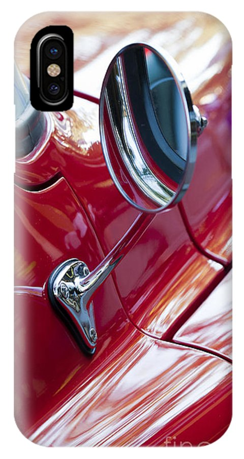 Wing IPhone X Case featuring the photograph Wing Mirror by Chris Dutton