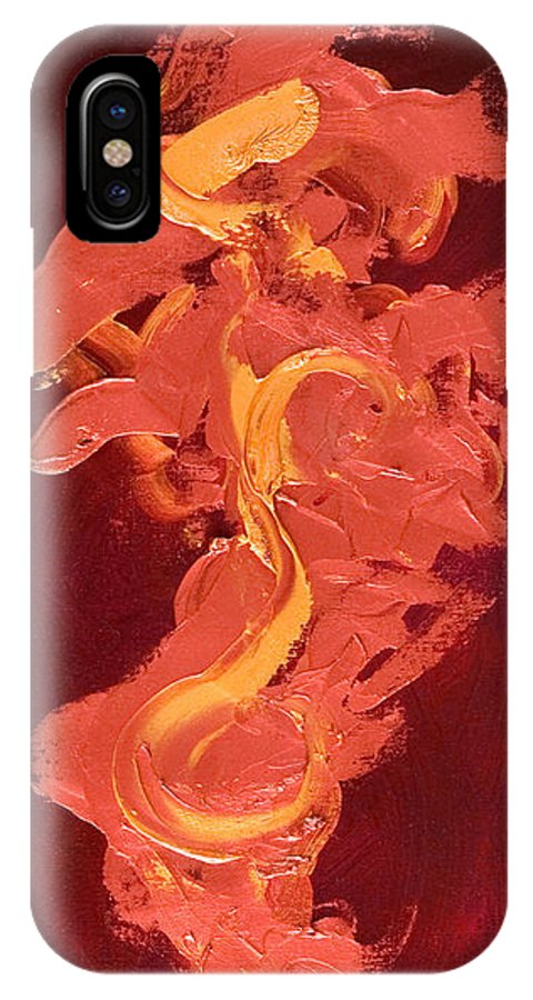 Year Of The Dog IPhone X Case featuring the painting Year of the Dog by Shannon Grissom