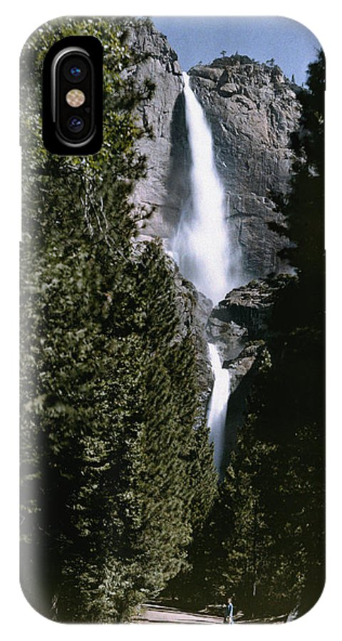 yosemite Falls IPhone X / XS Case featuring the photograph Yosemite Falls, Yosemite National Park by Charles Martin
