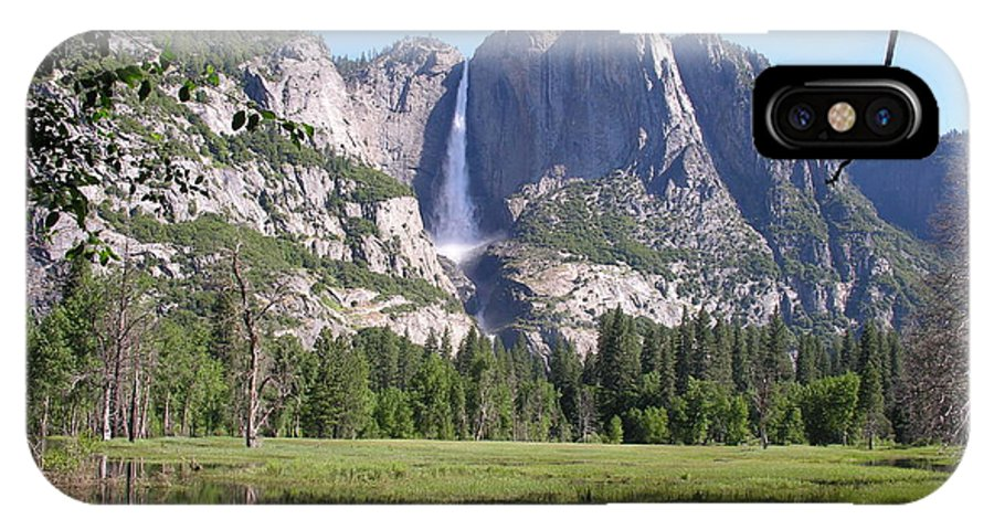Yosemite National Park IPhone X Case featuring the photograph Yosemite National Park Usa by Diane Greco-Lesser