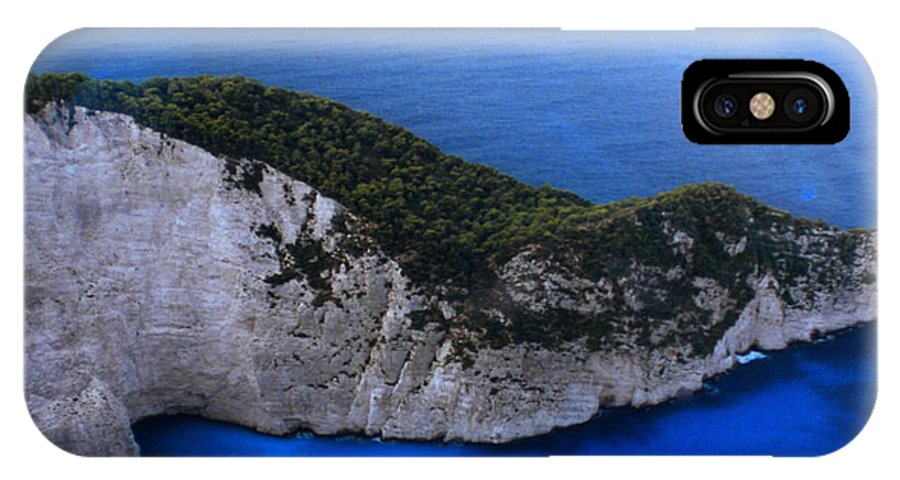 Colette IPhone X / XS Case featuring the photograph Zakynthos Crocodile Island Greece by Colette V Hera Guggenheim