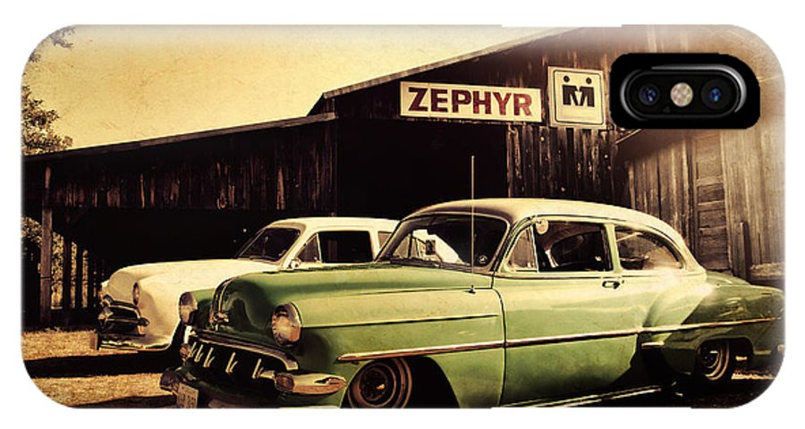 Chevy IPhone X Case featuring the photograph Zephyr by Joel Witmeyer