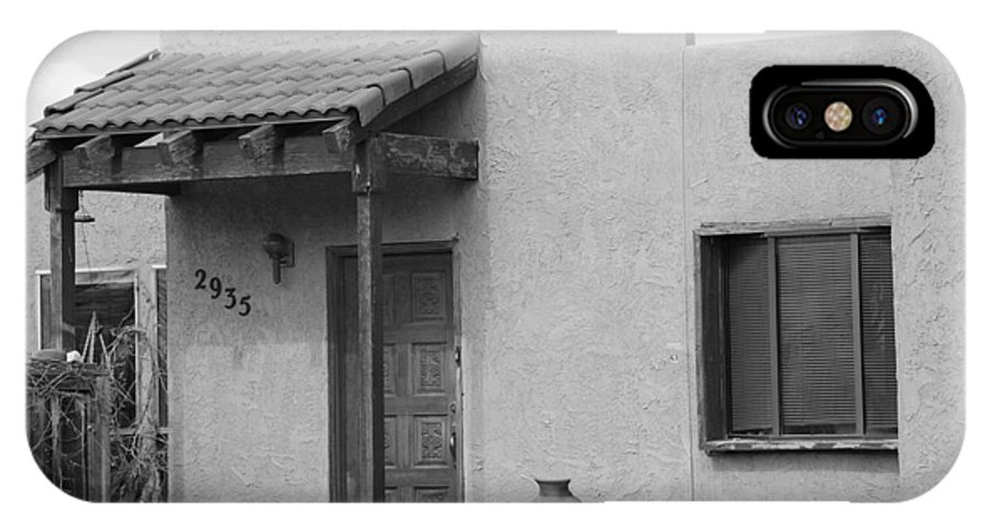 Architecture IPhone Case featuring the photograph Adobe House by Rob Hans