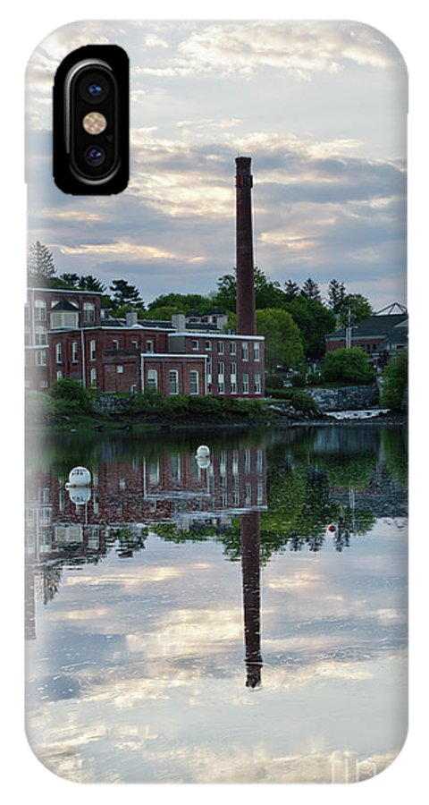 Landscape IPhone X / XS Case featuring the photograph Exeter New Hampshire Usa by Erin Paul Donovan