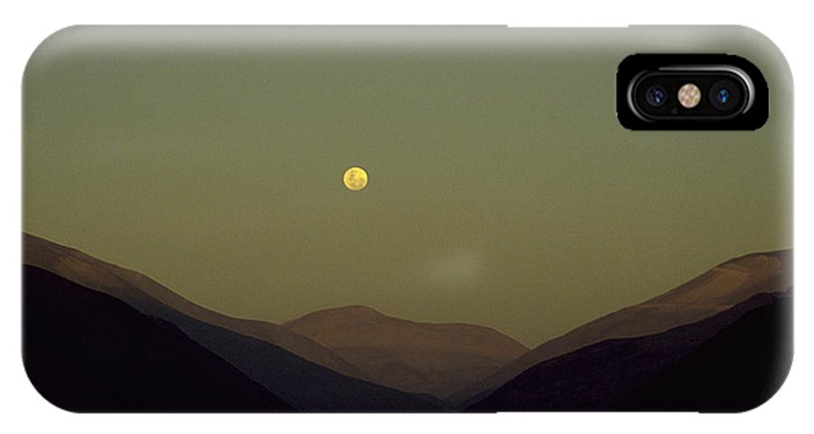 Photograph IPhone Case featuring the photograph The Andes Mood by Michael Mogensen