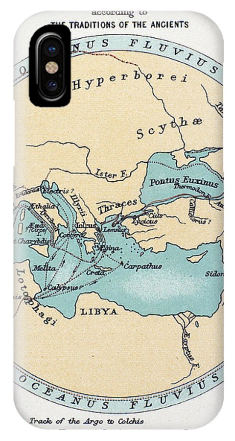 Africa IPhone X Case featuring the painting Voyage Of The Argonauts by Granger