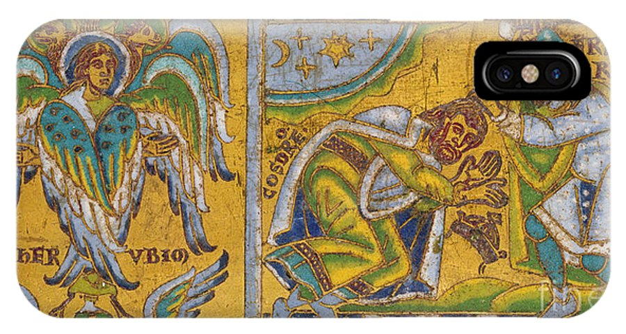 13th Century IPhone X Case featuring the painting Heraclius (c575-641 A.d.) by Granger
