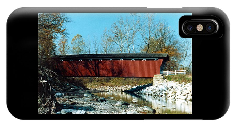Bridge IPhone Case featuring the photograph 072106-31 by Mike Davis