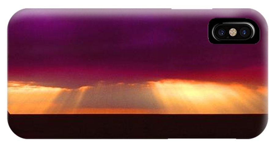Sunset IPhone Case featuring the photograph 092908-4 by Mike Davis