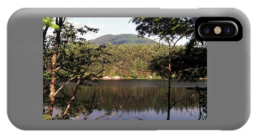 Mountain IPhone X Case featuring the photograph 080706-84 by Mike Davis