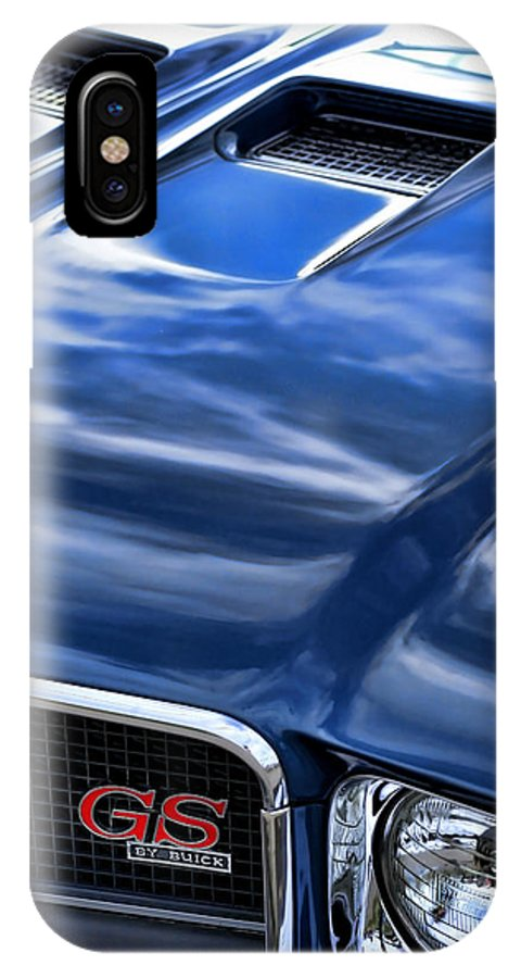 1970 IPhone X Case featuring the photograph 1970 Buick Gs 455 by Gordon Dean II