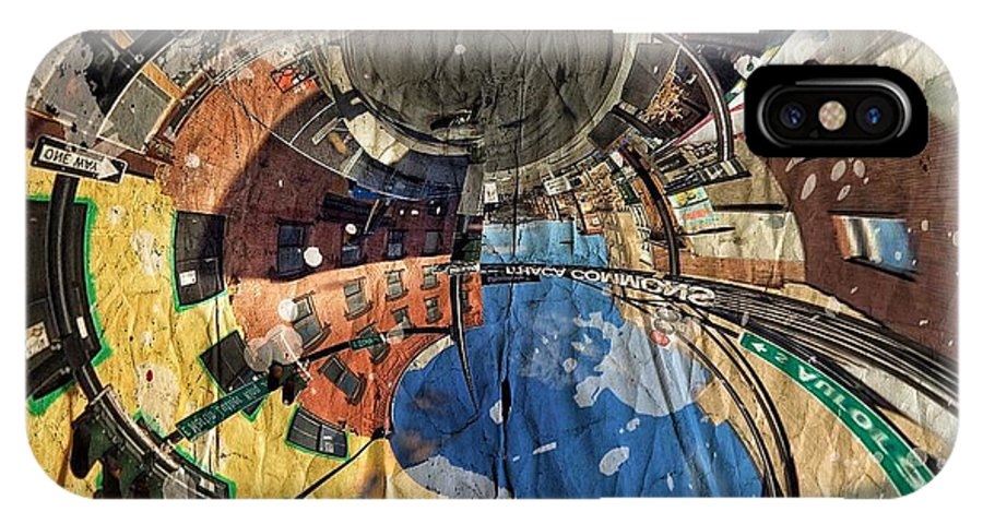 Abstract IPhone X Case featuring the photograph A Common Perception by Stan Bowman