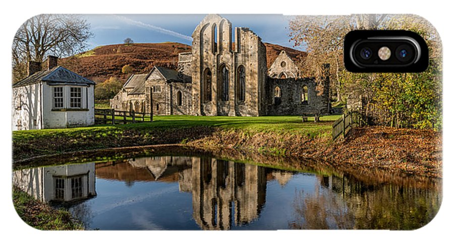 Abbey IPhone X Case featuring the photograph Abbey Reflection by Adrian Evans