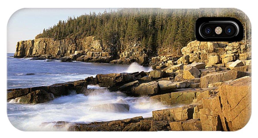 Atlantic Ocean IPhone X Case featuring the photograph Acadia National Park - Maine Usa by Erin Paul Donovan