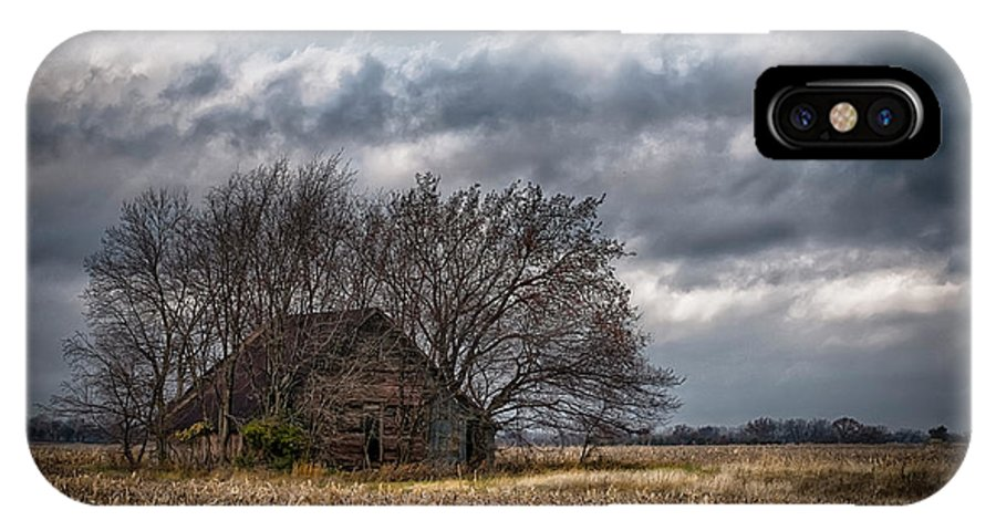 Farm Prints IPhone X Case featuring the photograph After Harvest by Garett Gabriel