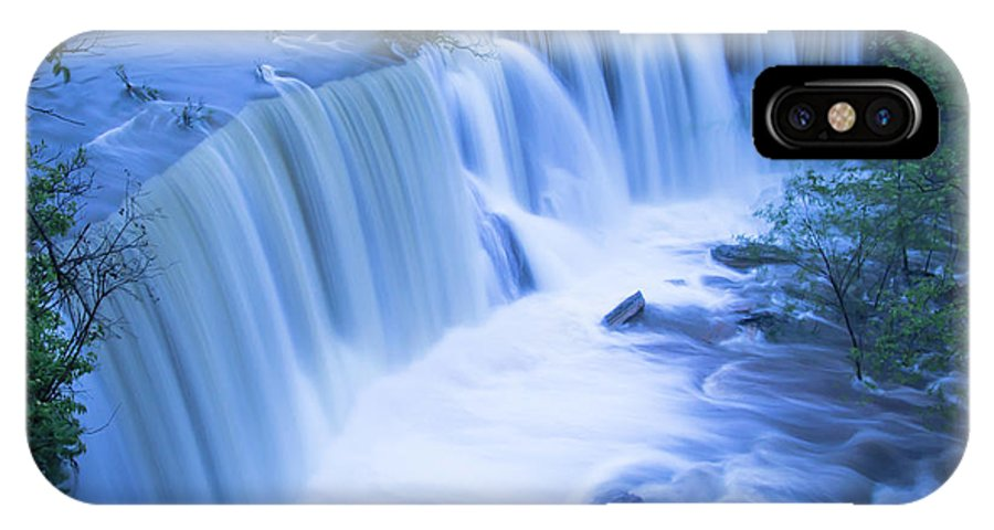 Nature IPhone X / XS Case featuring the photograph After The Rains by Steve Marler