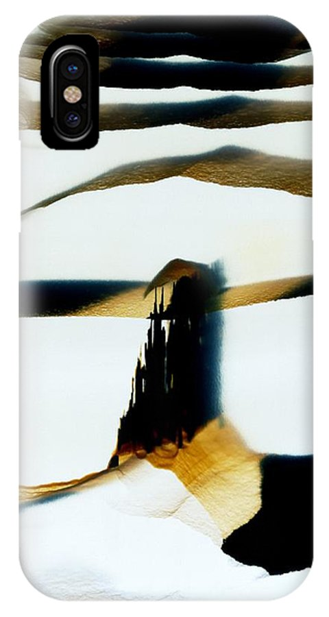 Agate IPhone X / XS Case featuring the photograph Agate by Dirk Wiersma