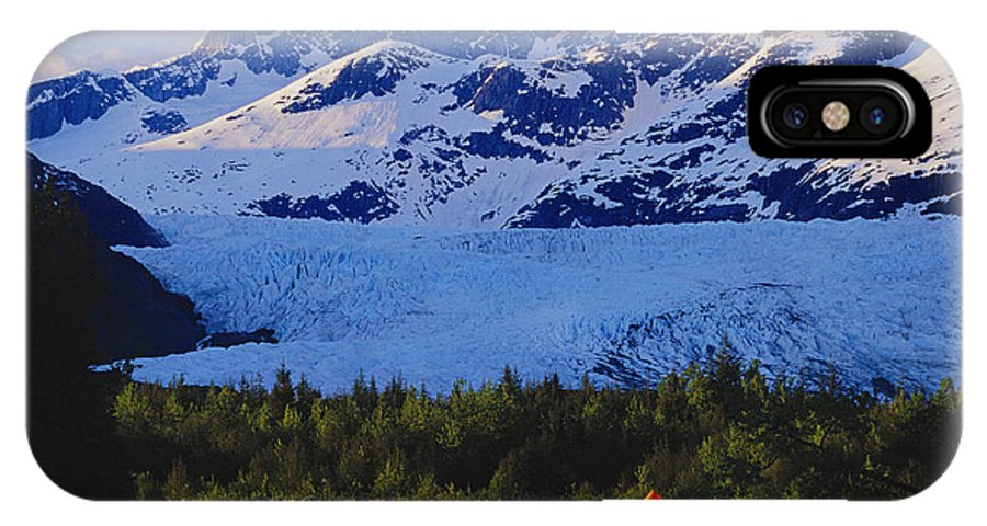 Active IPhone X Case featuring the photograph Alaska, Inside Passage by John Hyde - Printscapes
