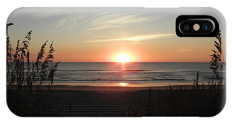 Sunrise IPhone X Case featuring the photograph Another Beautiful Day by Kim Galluzzo Wozniak