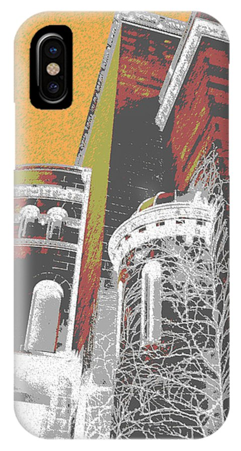 Architecture IPhone X Case featuring the photograph Architecture Series by Ginger Geftakys