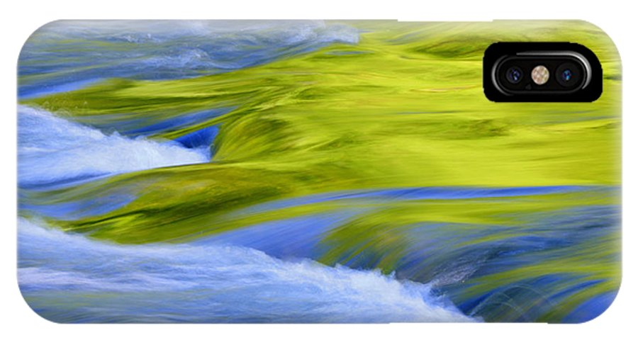 River IPhone X Case featuring the photograph Argen River by Silke Magino