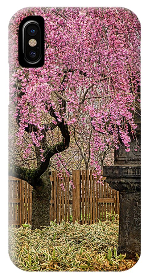 Asian IPhone X Case featuring the photograph Asian Spring by Chris Lord