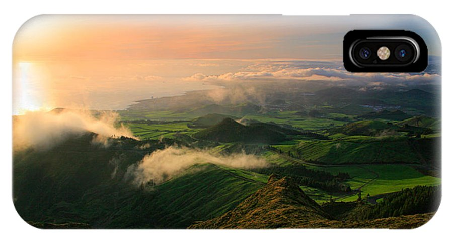 Coast IPhone X Case featuring the photograph Azores Islands Landscape by Gaspar Avila