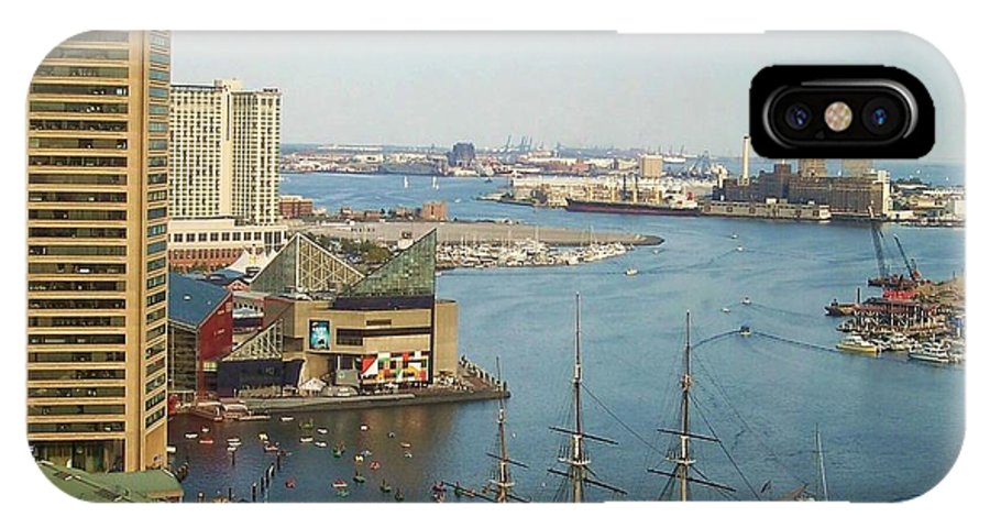 Baltimore IPhone X Case featuring the photograph Baltimore by Debbi Granruth