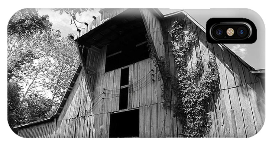 Hay Barn IPhone X Case featuring the photograph Barn In Kentucky No 66 by Dwight Cook