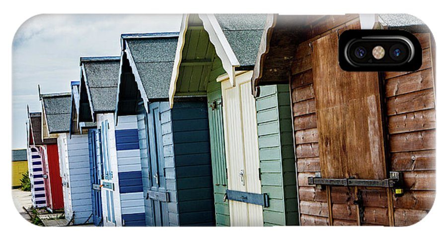Beach Huts IPhone X Case featuring the photograph Beach Huts by Ed James