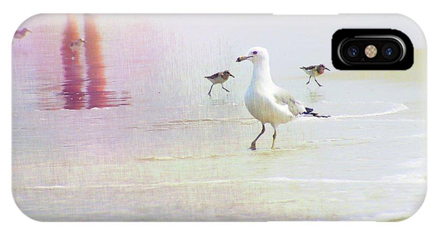 Ocean IPhone X Case featuring the photograph Beach Walk by JAMART Photography
