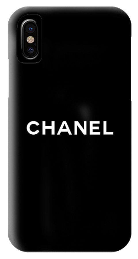 sports shoes b5046 f36c3 Chanel IPhone X Case