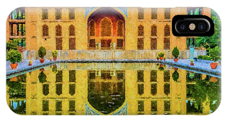 Chelel-sotun Palace IPhone X / XS Case featuring the photograph Chelel Sotun Palace by Mao Lopez
