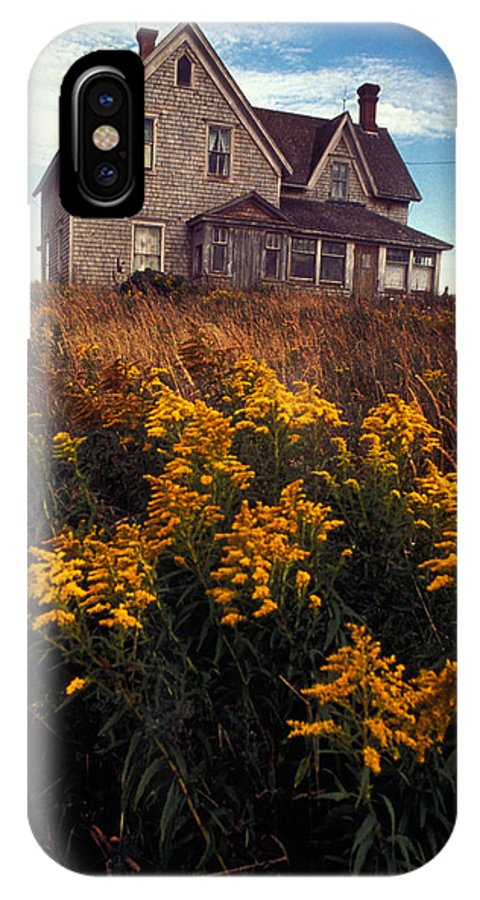 Goldenrod IPhone X Case featuring the photograph Christina's World by Carl Purcell