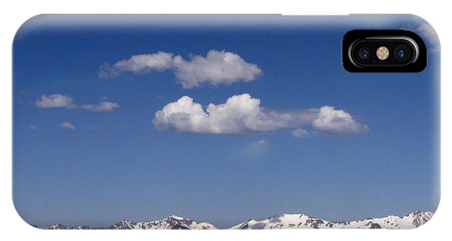 Mountains IPhone X Case featuring the photograph Colorado by Amanda Barcon