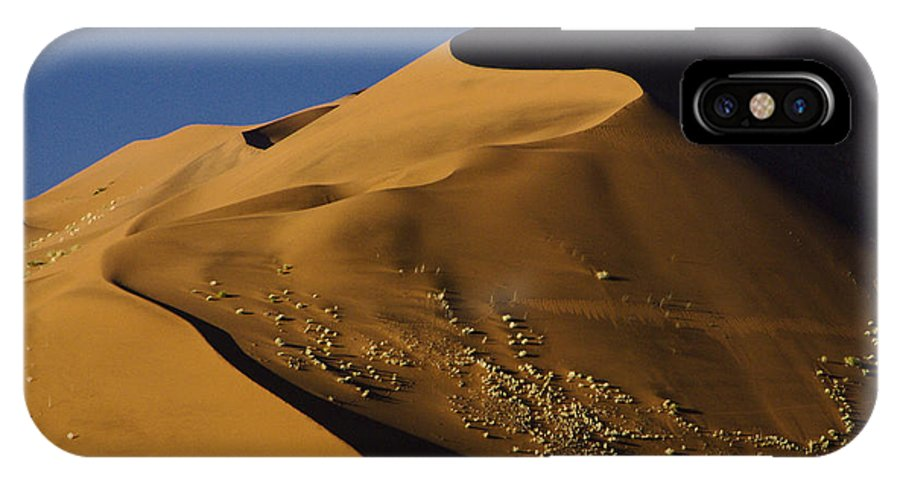 Africa IPhone X Case featuring the photograph Contours Of Sossusvlei by Michele Burgess
