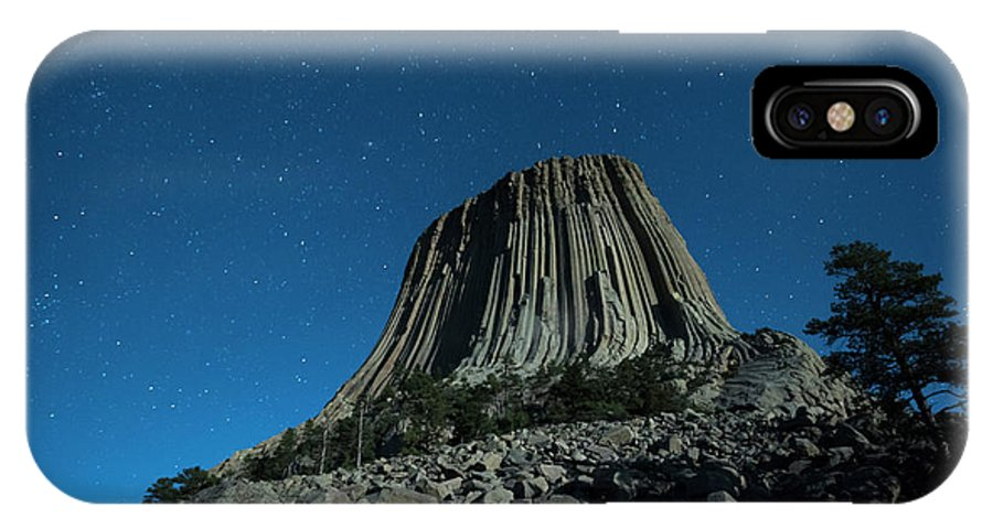Adventure IPhone X Case featuring the photograph Devil's Tower by Juli Scalzi