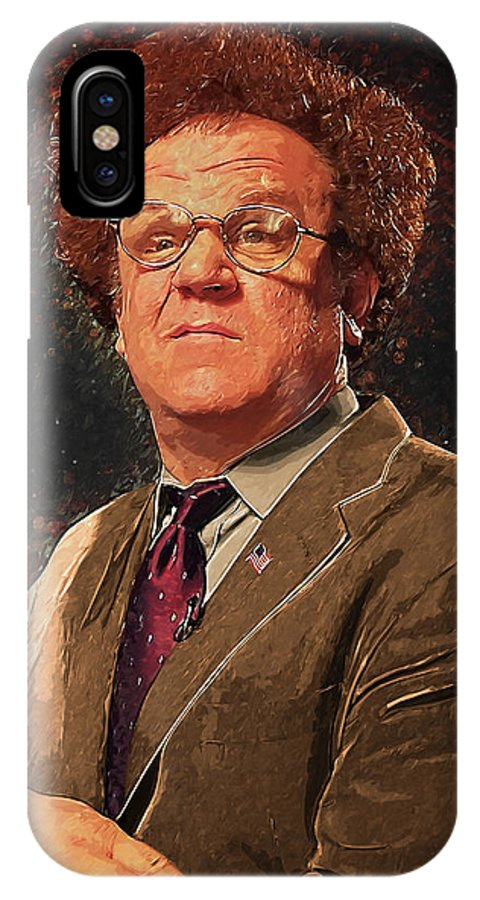Dr Steve Brule IPhone X Case featuring the digital art Dr Steve Brule by Zapista Zapista