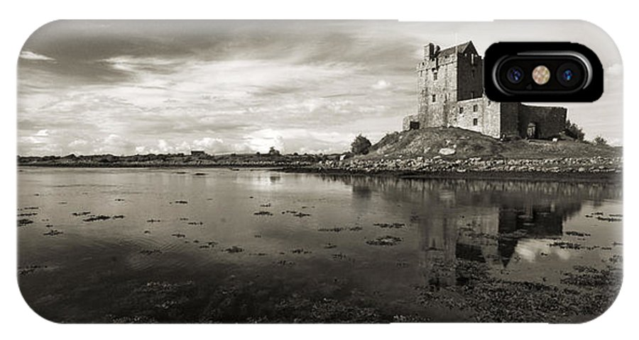 Dunguaire IPhone X Case featuring the photograph Dunguaire Castle Kinvara Co Galway Ireland by Pierre Leclerc Photography