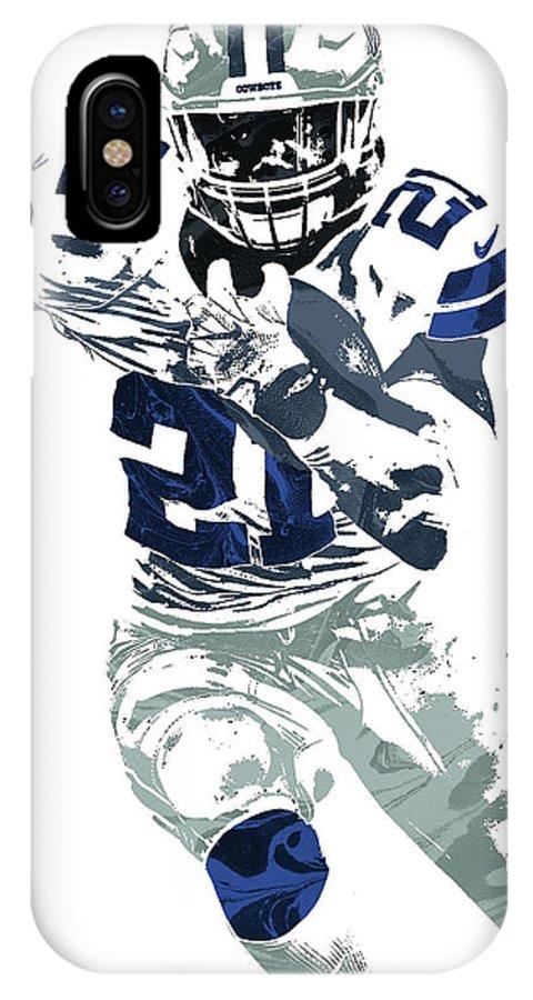 pretty nice 172aa 82d42 Ezekiel Elliott Dallas Cowboys Pixel Art 6 IPhone X Case
