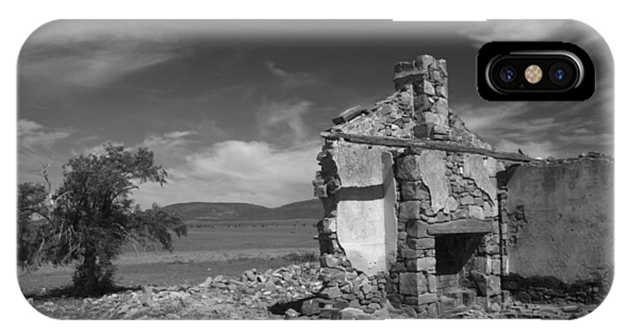 Cottage IPhone Case featuring the photograph Farmhouse Cottage Ruin Flinders Ranges South Australia by Ralph A Ledergerber-Photography
