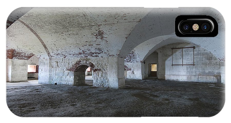 Ft IPhone X Case featuring the photograph Fort Warren 7124 by Bob Neiman