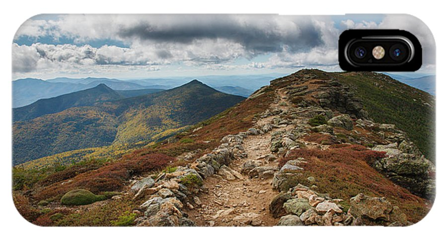 Alpine Tundra System IPhone X Case featuring the photograph Franconia Ridge Trail - White Mountains New Hampshire by Erin Paul Donovan