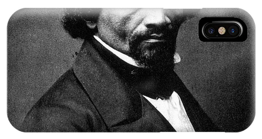 1866 IPhone X Case featuring the photograph Frederick Douglass by Granger