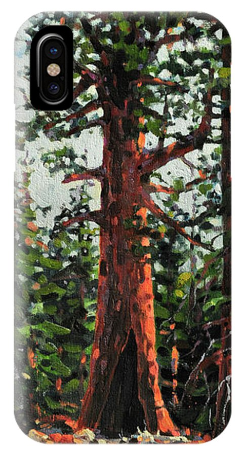 General Sherman IPhone Case featuring the painting General Sherman by Donald Maier