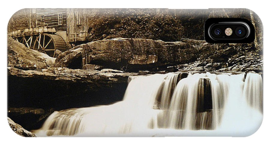 West Virginia IPhone X Case featuring the photograph Glade Creek Grist Mill by Jack Paolini