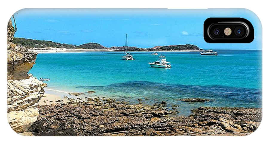 Landscape IPhone X / XS Case featuring the photograph Great Keppel Island by Rochelle Janke