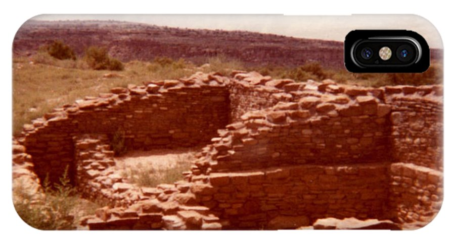 Historic Indian Ruins Prints IPhone X Case featuring the photograph Historic Indian Ruins by Ruth Housley