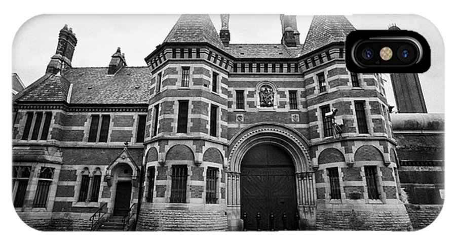Hmp IPhone X / XS Case featuring the photograph hmp Manchester prison strangeways England UK by Joe Fox